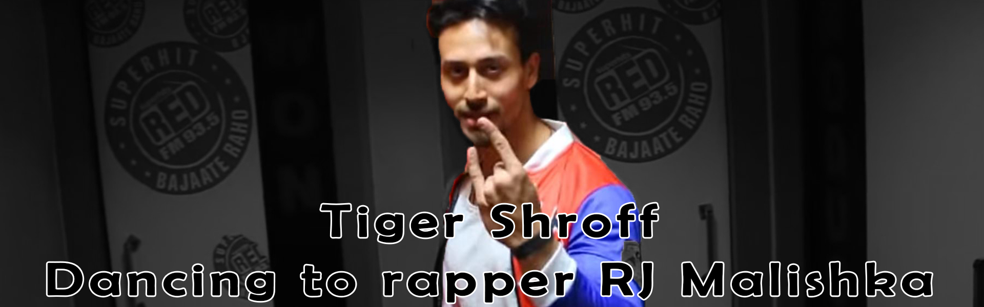 Tiger Shroff dances on RJ Malishka Rap | Bahot Hard